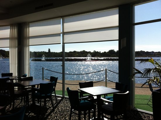 Sevens Boatshed: View from Cafe
