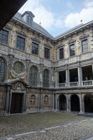 Rubens House (Rubenshuis) : внутренний дворик дома