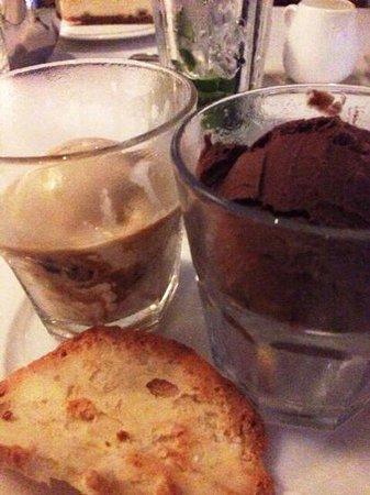 China House: Guala Malaka (left) peanut butter (right) ice cream