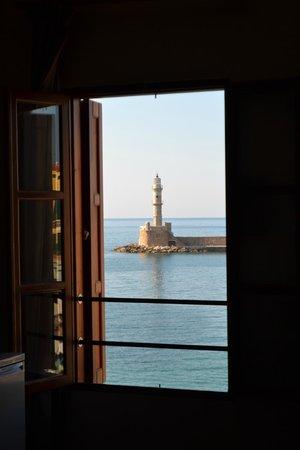Porto Antico Hotel & Apartments : Uitzicht vanuit de kamer
