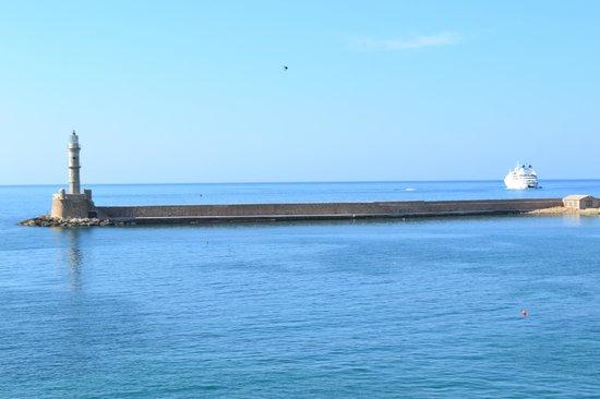 Hotel Porto Antico : Uitzicht vanuit de kamer
