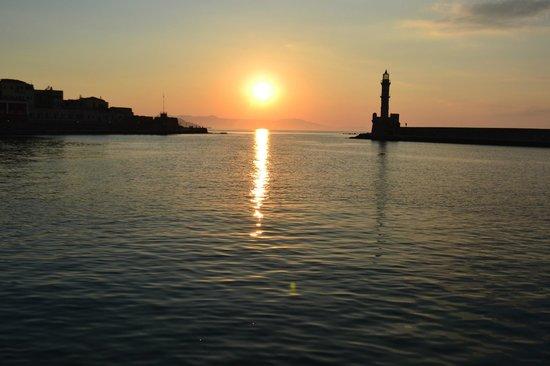 Porto Antico Hotel: Zonsondergang