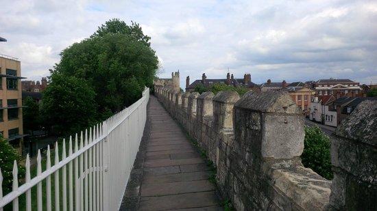Mur d'enceinte : York wall