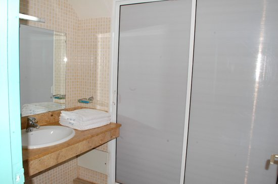 residence hotel azour salle de bain