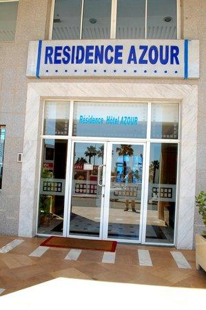 Residence Hotel Azour : l'entrée de la résidence