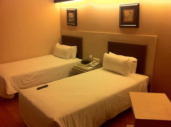 GreenPark Hyderabad: Room with two beds