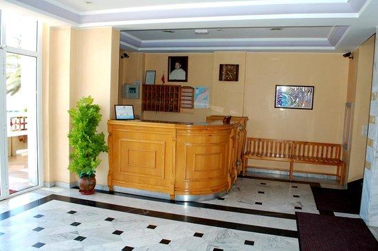 Residence Hotel Azour : la récéption