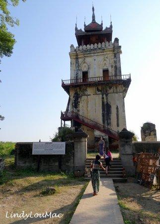 Nanmyin Watch Tower: The Leaning Tower of Inwa