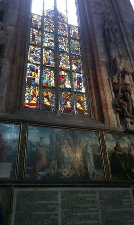 St.-Sebaldus-Kirche: Витражи