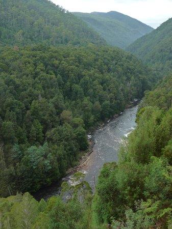 West Coast Wilderness Railway: King River Gorge