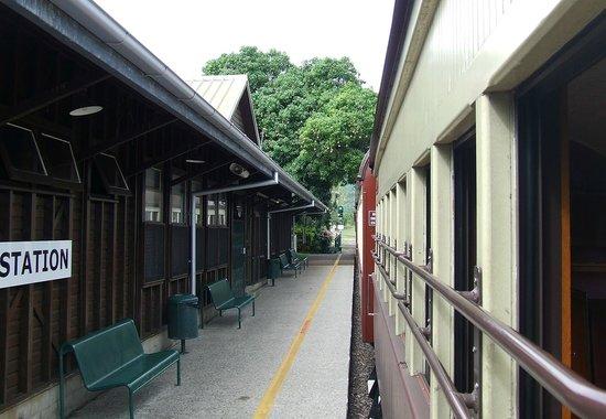 Kuranda Scenic Railway: Stop at Freswater Station