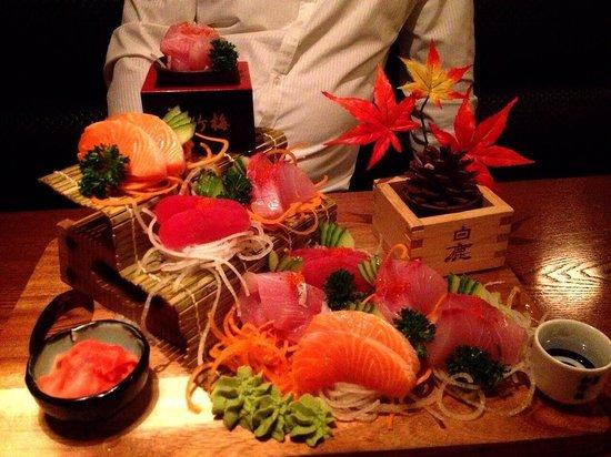 Kushi Japanese Restaurant: Shushi medium .. Good value , fresh & well present it. Best Japanese restaurant that we ever h