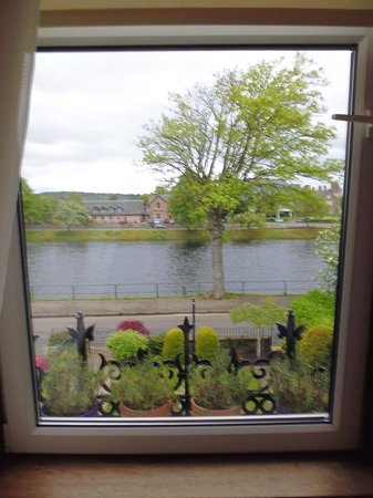 Macrae Guest House: View from the upstairs room