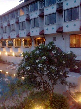Life Up Resort & Spa: Balcony view