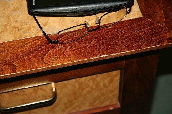 Aberdeen Lodge : Alle Möbel abgestossen