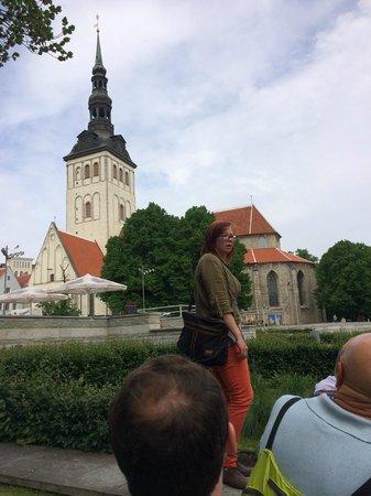 Tallinn Free Tour : Ann our tour guide
