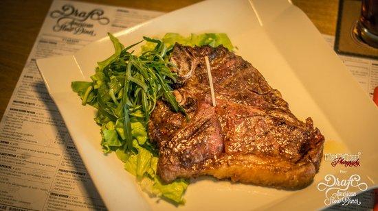 Draft: t-bone steak