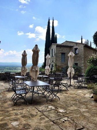 Hotel Crillon le Brave : Bar terrace