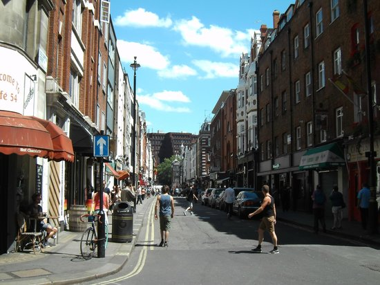 Soho: Old Compton Street