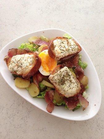 L'Auberge: Salade authentique