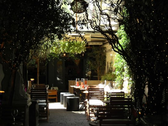 Soho: The Yard Restaurant.