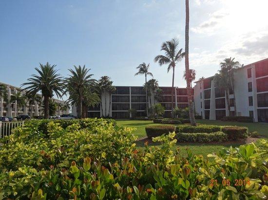 Sundial Beach Resort & Spa: the garden