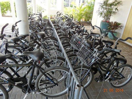 Sundial Beach Resort & Spa: dont rent them, they need repair