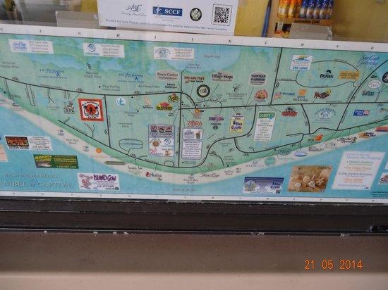 Sundial Beach Resort & Spa : beach plan