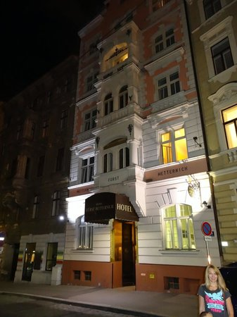 Hotel Fuerst Metternich main entarance