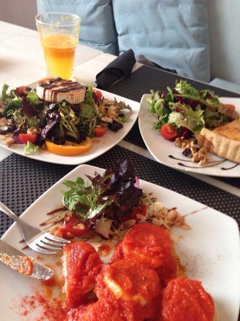 Cafe Scholl: Great lunch!!