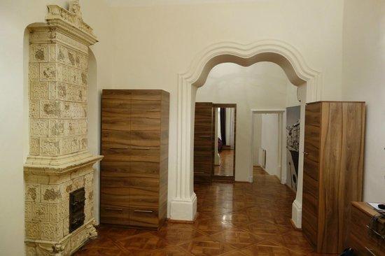 Szczepanska Apartment House: korytarz