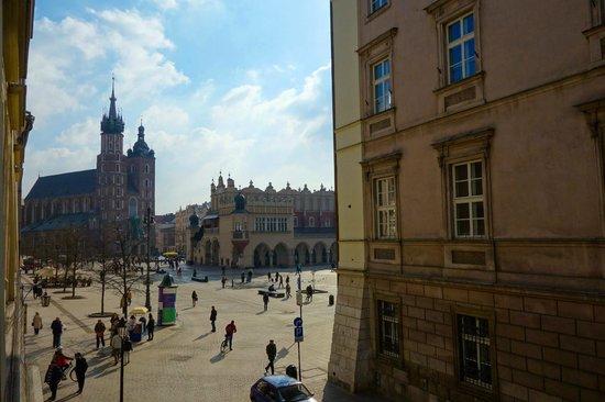 Szczepanska Apartment House: widok z okna