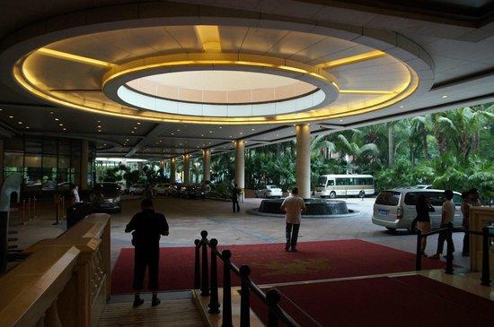 The Venice Raytour Hotel Shenzhen: l'entrée