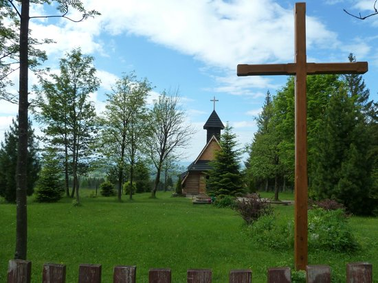 Gubalowka: église en bois