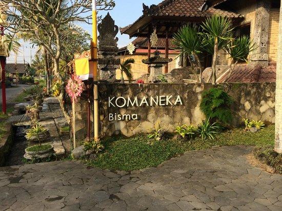 Komaneka at Bisma: 비스마 로드에 있는 호텔 입구