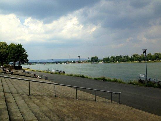 Hyatt Regency Mainz: Набережная Рейна