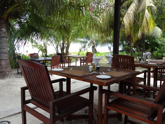 Village du Pecheur: ресторан отеля  - здесь можно обедать и ужинать.