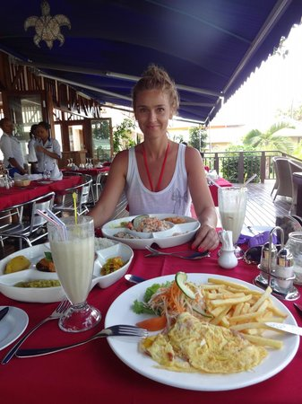Village du Pecheur: соседний ресторан Piroque - самый лучший из соседних