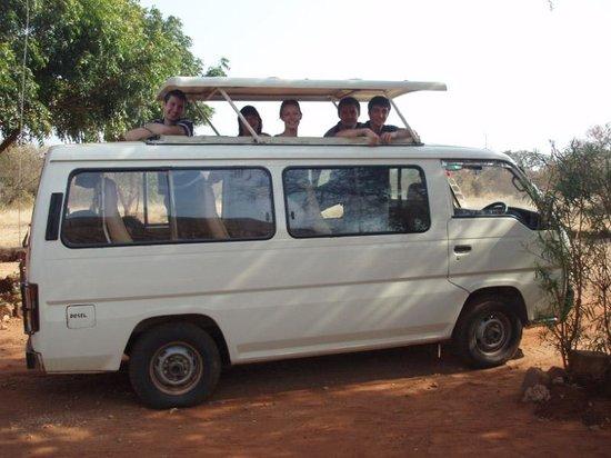 First African Dream Tours & Safaris : Safari min-bus