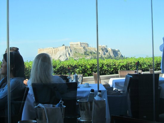 Hotel Grande Bretagne, A Luxury Collection Hotel: View from breakfast