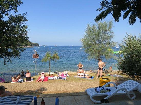 Hotel Plavi: Пляж