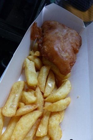 Cod and Chips from fish! kitchen