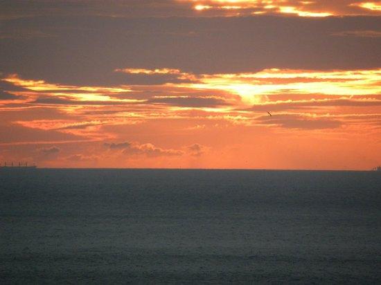 Caleta Hotel: sunrise from hotel caleta