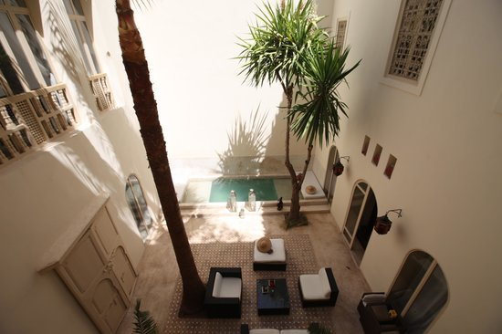Riad 144 Marrakech: Patio at 144
