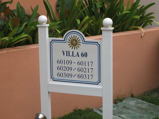 Luxury Bahia Principe Ambar Blue : Placa distribución habitacione