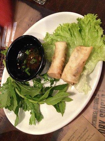 Banana Tree Bayswater: Rollitos vietnamitas