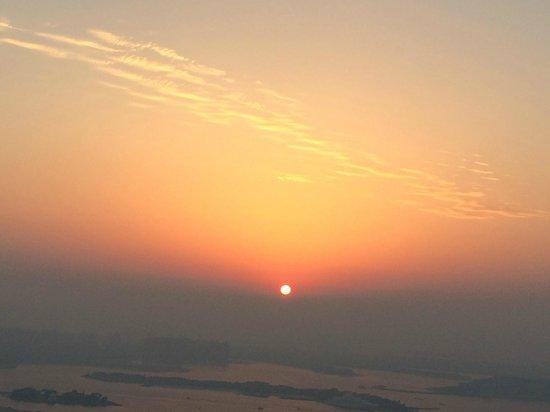 Fraser Suites Dubai: Sunset over The Palm