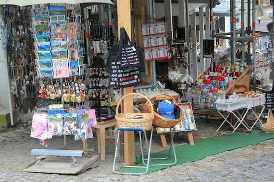 Kloster Einsiedeln: The small market next to the Kloster.