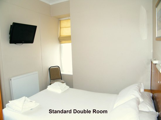 The Clarence House Hotel: Standard Double Room