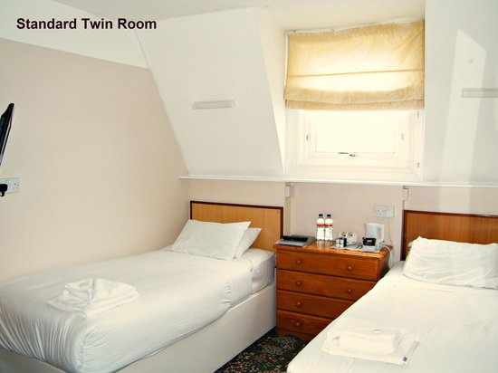 The Clarence House Hotel: Standard Twin Room